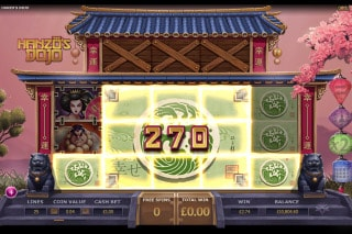 Hanzos Dojo Mobile Slot Win