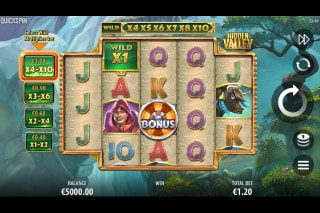 Hidden Valley Mobile Slot Game