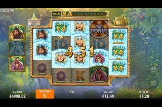 Hidden Valley Slot Free Spins