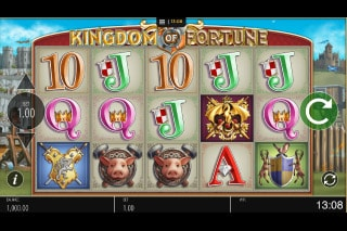 Kingdom of Fortune Mobile Slot Game