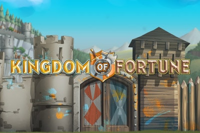 Kingdom of Fortune Mobile Slot Logo