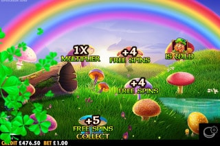 Leprechaun Mobile Slot Free Spins Select