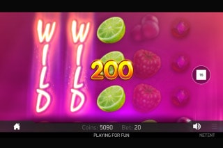 NetEnt Berryburst Max Slot Win