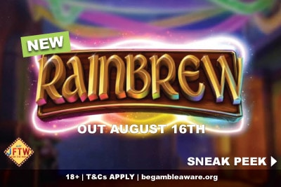 New JFTW Rainbrew Slot Game Coming August 2018