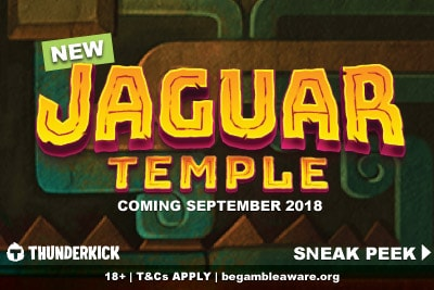 New Thunderkick Jaguar Temple Mobile Slot Coming September 2018