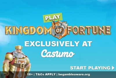 Play Kingdom of Fortune Slot Exclusively at Casumo
