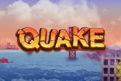 Quake Mobile Slot Logo