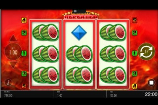 Red Hot Repeater Mobile Slot Melons