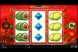Red Hot Repeater Mobile Slot Game