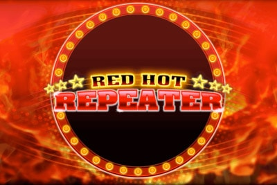 Red Hot Repeater Mobile Slot Logo
