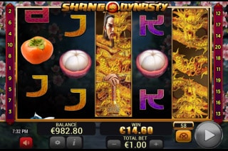 Shang Dynasty Slot Stacked Wilds