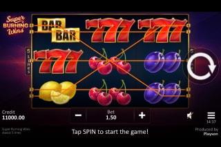 Super Burning Wins Mobile Slot
