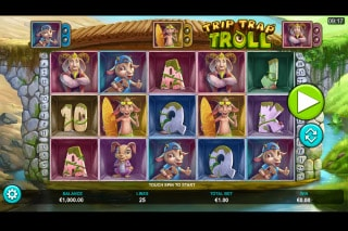Trip Trap Troll Mobile Slot Machine