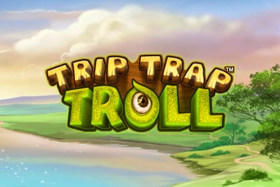 Trip Trap Troll Mobile Slot Logo