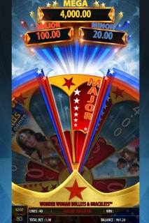 Wonder Woman Jackpot Slot Spin