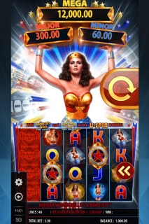 Wonder Woman Mobile Slot Game