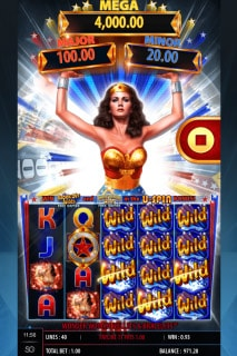 Wonder Woman Mobile Slot Wilds