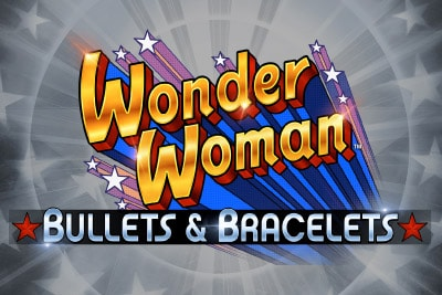 Wonder Woman Mobile Slot Logo