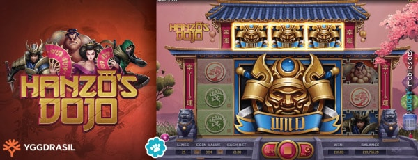 Yggdrasil Hanzos Dojo Mobile Slot Game With Wilds