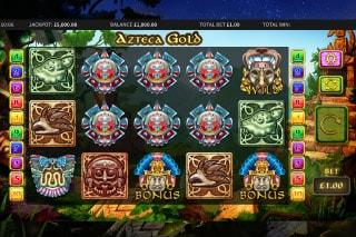 Azteca Gold Mobile Slot Machine