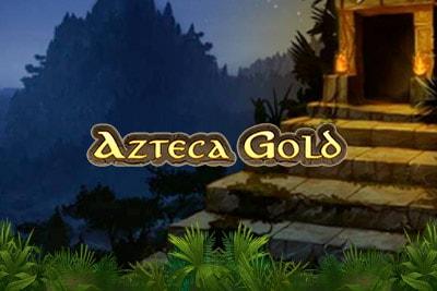 Azteca Gold Mobile Slot Logo