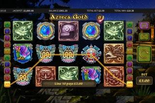Azteca Gold Mobile Slot Win
