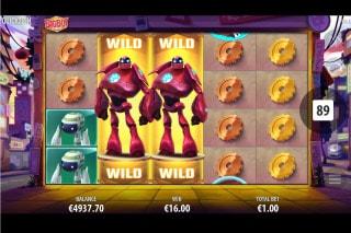 Big Bot Crew Slot Free Spins Game