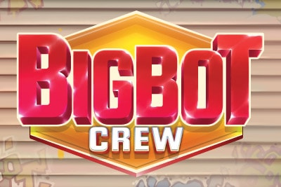 Big Bot Crew Mobile Slot Logo