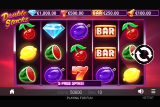 Double Stacks Mobile Slot Machine