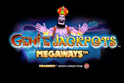 Genie Jackpots Megaways Mobile Slot Logo