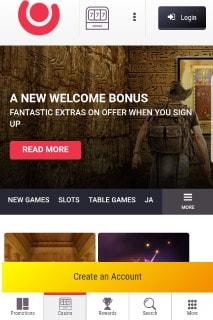 Guts Casino Lobby New