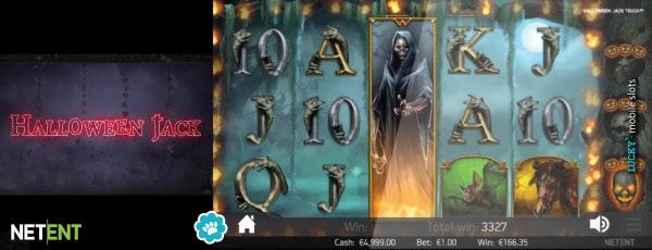 Halloween Jack Mobile Slot Free Spins With Wild Reels