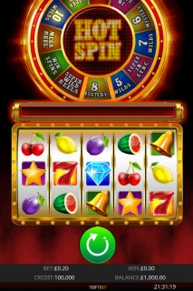 Hot Spin Mobile Slot Machine