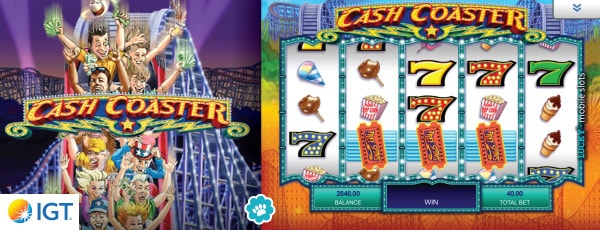 · Cash Coaster slot is a 5-reel machine with 30 paylines, which is another superb slot designed by IGT.If you were looking for a game that will make you hungry in all meanings, this pokie is something for you to consider.Play Cash Coaster by IGT: 30 Paylines.This game stands out from other IGT products as being a fascinating adventure in the middle of an amusement park.One of the most 1,4/5.Işıklar