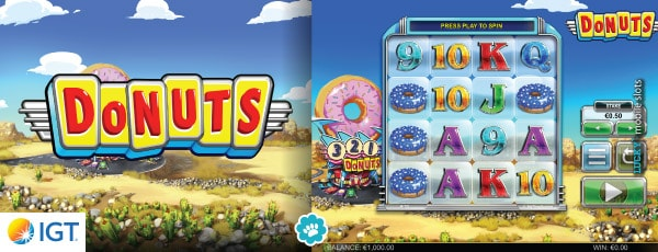 Donuts Slot By IGT