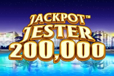 Jackpot Jester 200,000 Mobile Slot Logo