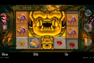 Jaguar Temple Mobile Slot Mega Symbols