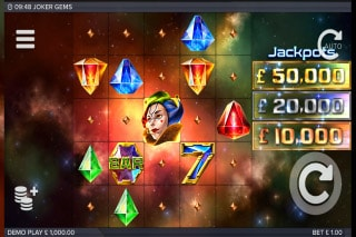 Joker Gems Mobile Slot Machine