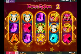 Juggling Jokers Mobile Slot Free Spins
