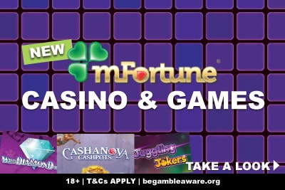 New mFortune Mobile Casino, Slots & Games