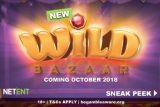 New NetEnt Wild Bazaar Mobile Slot Coming October 2018