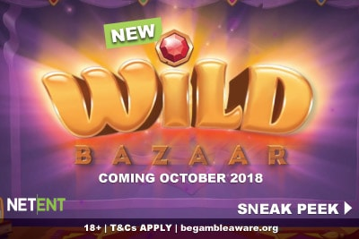 New NetEnt Wild Bazaar Mobile Slot Coming October 2018