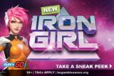 New Play'n GO Iron Girl Mobile Slot Coming Soon