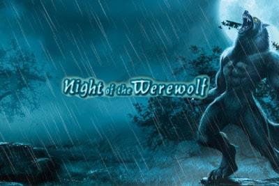 Night of the Werewolf Mobile Slot Logo