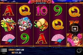 Peking Luck Mobile Slot Game