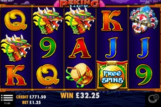 Peking Luck Mobile Slot Free Spins