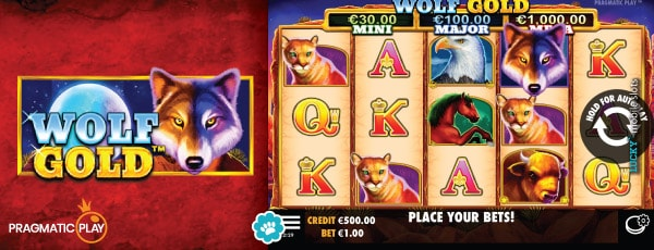 Wolf Gold Slot Game With In Game Jackpots