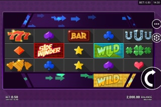 Sidewinder Mobile Slot Game