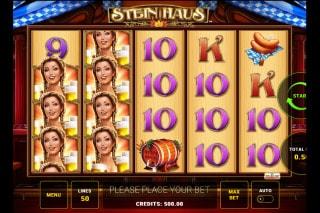Stein Haus Mobile Slot Machine