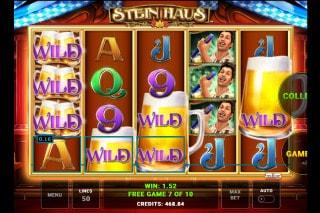 Stein Haus Slot Free Spins Win